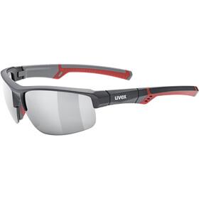 UVEX Sportstyle 226 Sportglasses grey red/litemirror silver